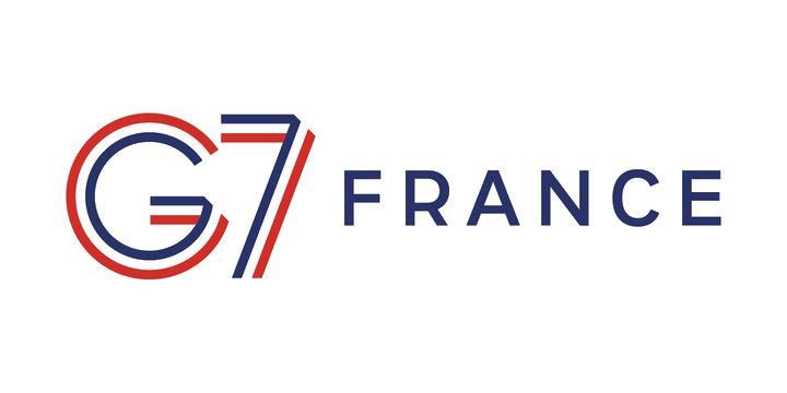 Logo du G7 en France
