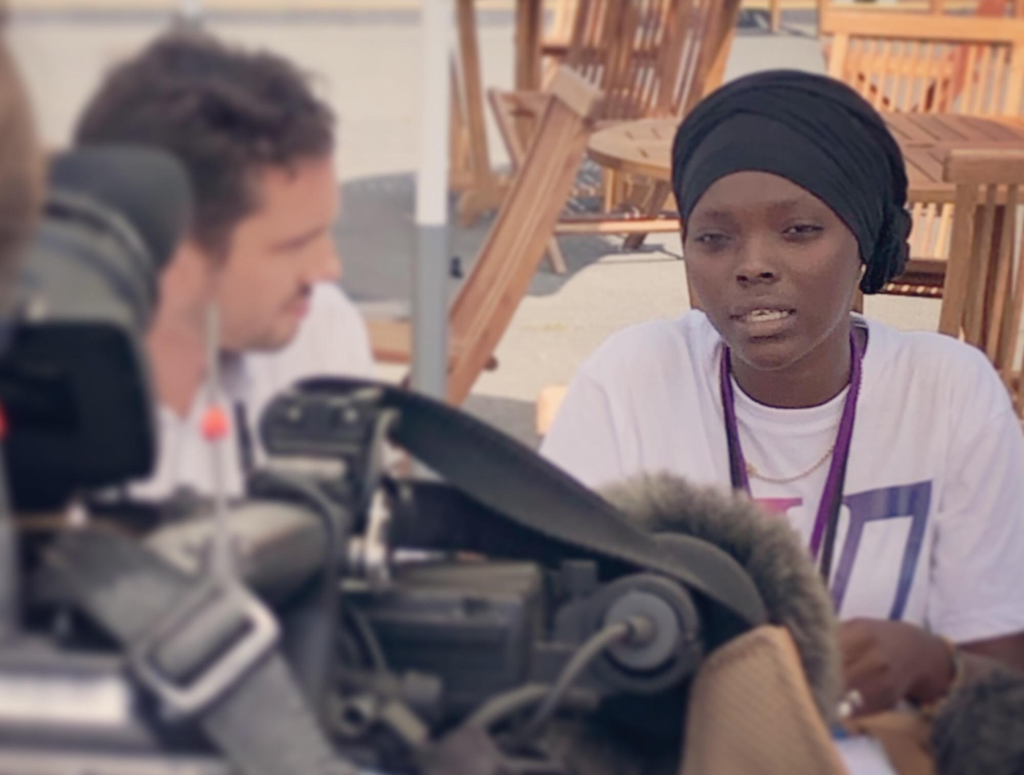 Portrait d'Hadja Idrissa BAH